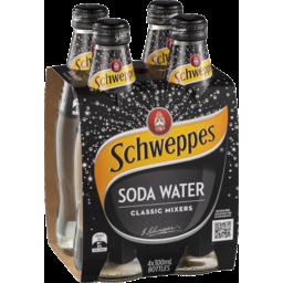 Photo of Schweppes Soda Water 4x300ml