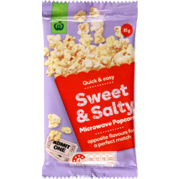 Photo of WW Microwave Popcorn Sweet & Salty 85g