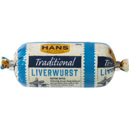 Photo of Hans Traditional Liverwurst 100g
