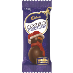 Photo of Cadbury Vanilla Mousse Snowman 30g