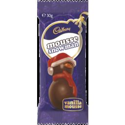 Photo of Cadbury Vanilla Mousse Snowman 30gm