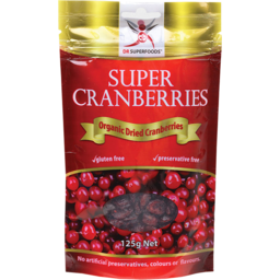 Photo of Dr Superfoods Dried Cranberries