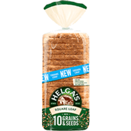 Photo of Helga Square Loaf 10 Grain & Seed Wholemeal 750g