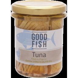 Photo of Good Fish Tuna Fillets Oil Jar 195g