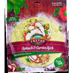 Photo of Freya's Wraps Spinach & Garden Herb 420g