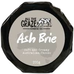 Photo of All The Graze Ash Brie 200gm