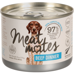 Photo of Meat Mates Dog Beef Dinner 170g
