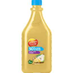 Photo of Golden Circle 50% Less Sugar Pear Pine & Pash Fruit Drink 2l