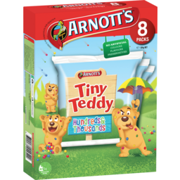 Photo of Arnott's Tiny Teddy Hundreds And Thousands 8 Pack 184g