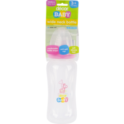 Photo of Decor Baby Bottle W-Neck 330ml