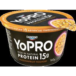 Photo of Danone Yopro Yopro High Protein Passionfruit Yoghurt 160g