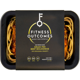 Photo of Fitness Outcomes Grass Fed Beef Bolognese 350gm