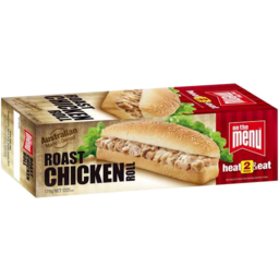 Photo of On The Menu Roast Chicken Roll 179g