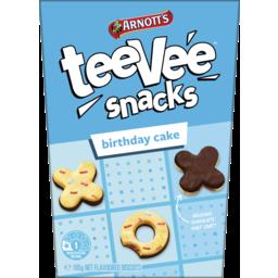 Photo of Arnott's Teevee Snacks Biscuits Birthday Cake 165g 165g
