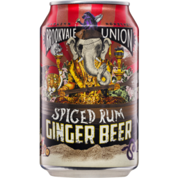 Photo of Brookvale Union Spiced Rum Ginger Beer 4.0% 330ml Can