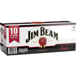 Photo of Jim Beam White & Cola Cans