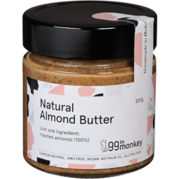 Photo of 99th Monkey Natural Almond Butter