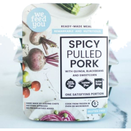 Photo of We Feed You Spicy Pulled Pork 400g