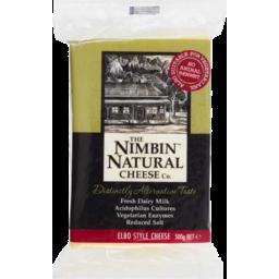 Photo of Nimbin Natural Cheese Block 500gm