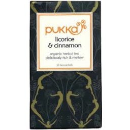 Photo of Pukka Tea Bags Licorice & Cinnamon 20s