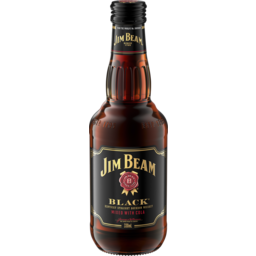 Photo of Jim Beam Black & Cola Bottles