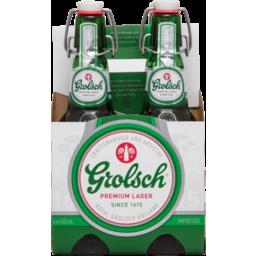 Photo of Grolsch Premium Lager 330ml 4 Pack