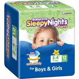 Photo of Babylove Sleepy Nght 2-4yrs12s