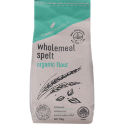 Photo of Ceres Organics Wholemeal Spelt Organic Flour 700g