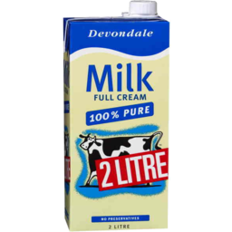 Photo of Devondale Full Cream Milk 2l