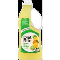 Photo of Diet Rite Lemon Lime Orange 1l