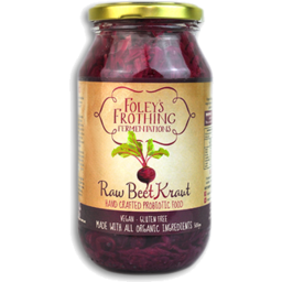 Photo of Foleys Raw Beet Kraut 50o Gm