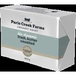 Photo of Paris Creek - Butter - Unsalted - 200g