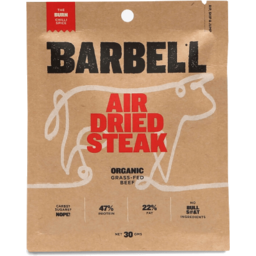 Photo of Barbell Air Dried Steak Chilli Spice 30g