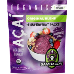 Photo of Sambazon - Acai - Original - 4 Pack