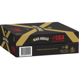 Photo of Black Douglas & Cola Can