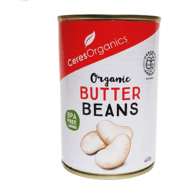 Photo of Ceres Organics Butter Beans