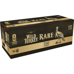 Photo of Wild Turkey Rare Cola Cans
