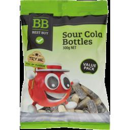 Photo of Best Buy Sour Cola Bottles 300g