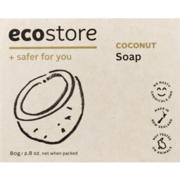 Photo of Ecostore Coconut Soap Bxd 80gm