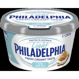 Photo of Philadelphia Spreadable Cream Cheese Light 250g