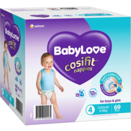 Photo of BABYLOVE NAPPY COSFIT JUMBO TODDLER 69S