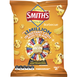 Photo of Smiths Crinkle Cut BBQ 170gm