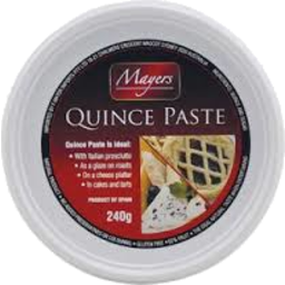 Photo of Mayers Quince Paste 240gm