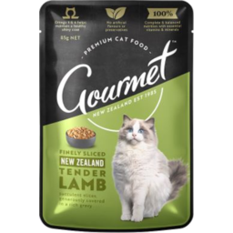 Photo of Gourmet Cat Tender Lamb 85g