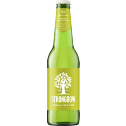 Photo of Strongbow Classic Pear Cider 355ml Bottle