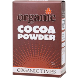 Photo of Organic Times Cocoa Powder