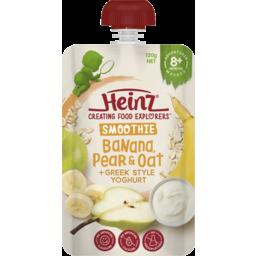 Photo of Heinz Smoothie Banana & Oat with Yoghurt 8m 120gm