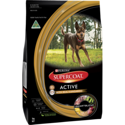 Photo of Purina Supercoat Adult Active Dog Dry Dog Food 3kg