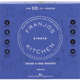 Photo of Franjos Kitchen Biscuits (Kinder) - Cacao & Chia