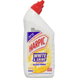 Photo of Harpic White & Shine Ultimate Bleach Power Citrus 450ml